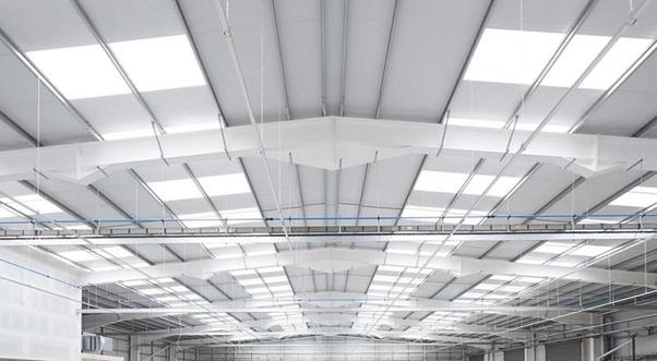 Nhà xưởng sử dụng tấm lợp lấy sáng