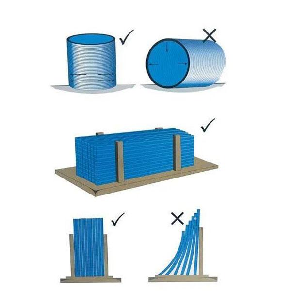 Các cách bảo quản tấm Polycarbonate hợp lý theo chiều thẳng đứng