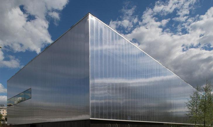 Mặt tiền Polycarbonate: Diện mạo mới cho kiến trúc đương đại