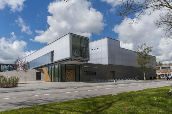 Kiến trúc nhà thi đấu Zaanstad Zuid (Hà Lan)