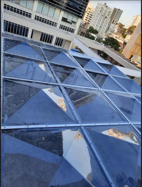 Mái che bằng tấm nhựa polycarbonate mang đến giá trị thẩm mỹ cao