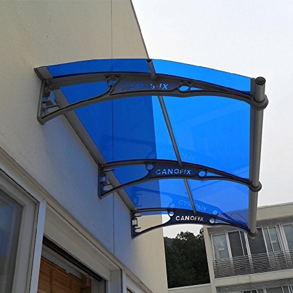 Mái che Canofix được ứng dụng làm mái che cửa đi