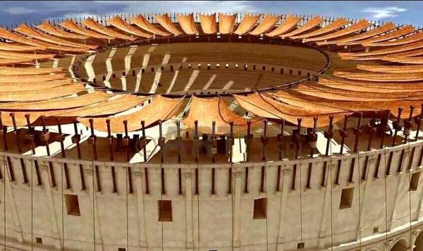Mái hiên che nắng xuất hiện từ thời cổ đại