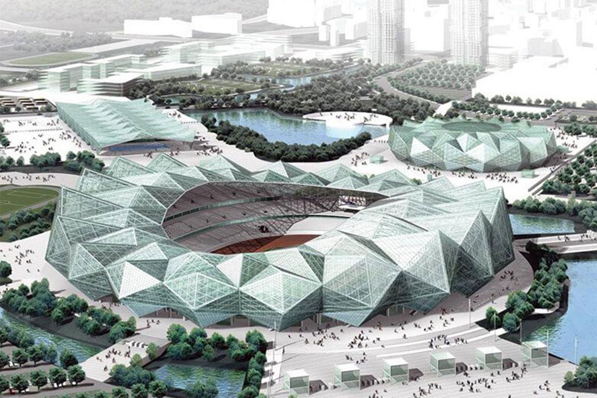 Sân vận động thể thao Đại học Thâm Quyến - Trung Quốc