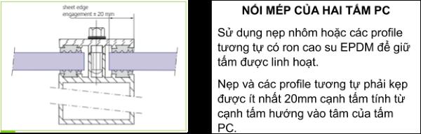 Bước 3: Nối mép của hai tấm PC
