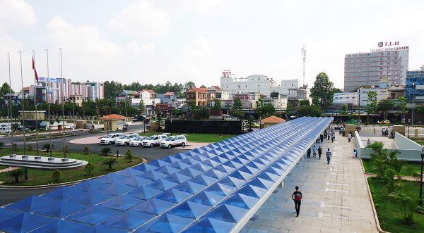 Công trình mái che lấy sáng thông minh cho Bệnh viện Đa khoa Đồng Nai