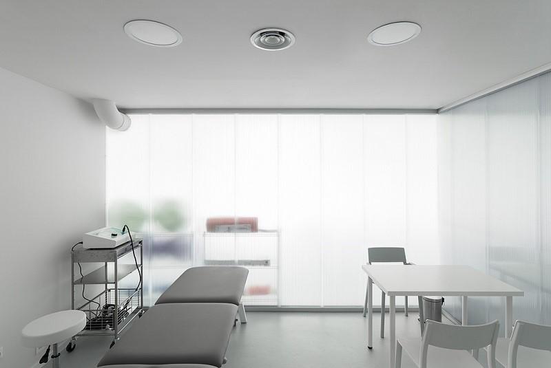 Tấm nhựa Polycarbonate thường được các cơ sở y tế sử dụng
