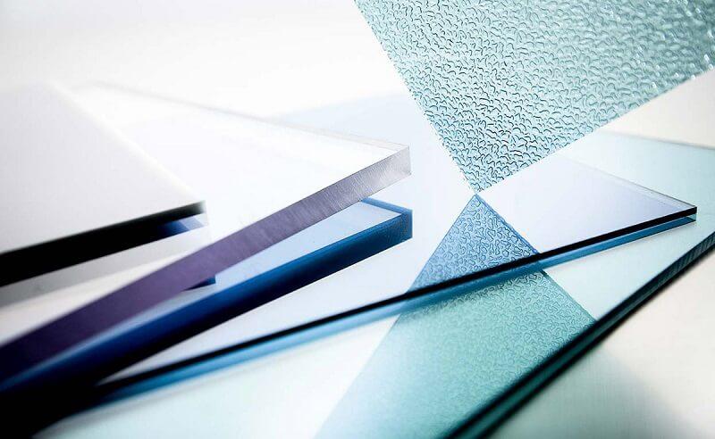 Tấm lợp nhựa Polycarbonate có nhiều hoa văn và độ trong khác nhau