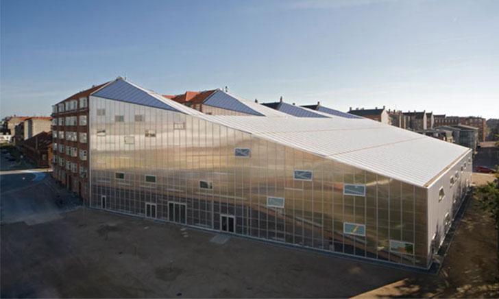 7 Công trình kiến trúc nhà thi đấu sử dụng Polycarbonate