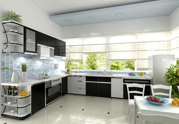 Vật liệu nhựa được ứng dụng trong tủ bếp